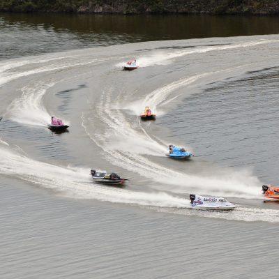 Campeonato Argentino de F1 Powerboat, Dique Las Pirquitas, Catamarca, Argentina. Mayo de 2016.     (Foto: Daniel Ramonell - Prensa F1 Powerboat)